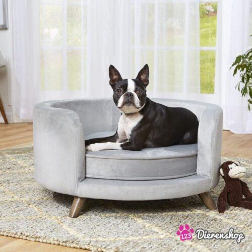 Hondensofa Rosie rond Grijs 70 cm-0