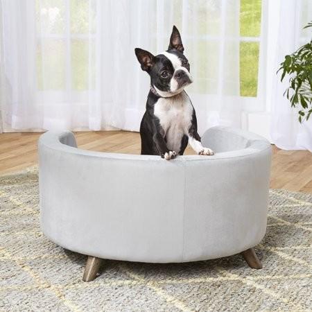 Hondensofa Rosie rond Grijs 70 cm-18603