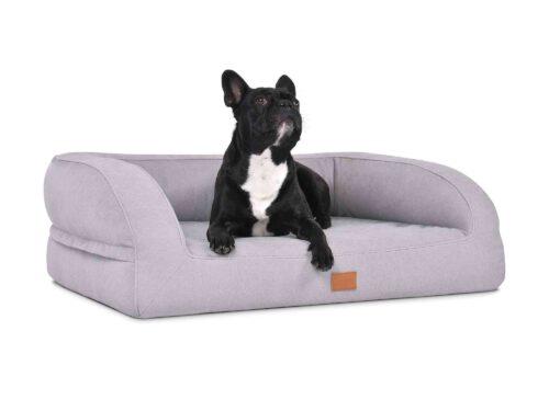 Hondenmand Lounge Zilver-0