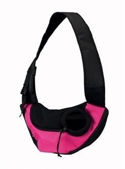Hondentas Sling Roze Zwart-0