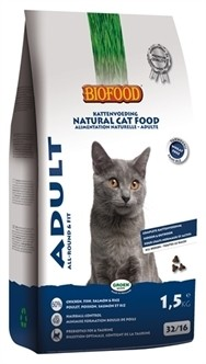Biofood Kat Adult All Round 1,5 kg-0