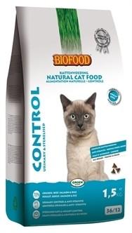 Biofood Kat Urinary & Sterilised Control 1,5 kg-0