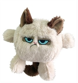 Grumpy Cat kattenkop 20 cm-0