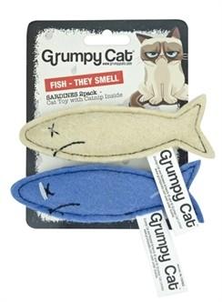 Grumpy Cat Sardines met catnip-0