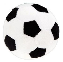 Hondenspeelgoed Pluche voetbal 11 cm-0