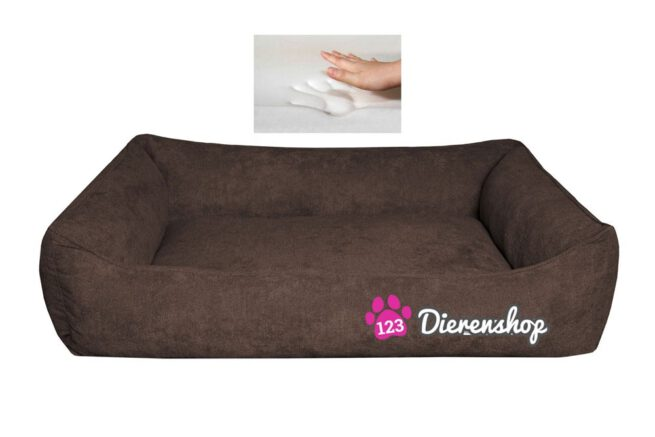 Orthopedische hondenmand Supersoft Donkerbruin 130 cm-0
