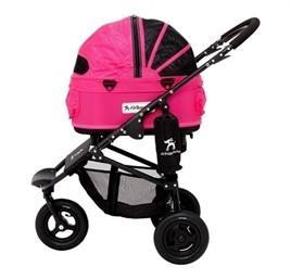 Airbuggy Hondenbuggy Dome2 Small Roze-0