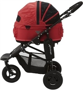 Airbuggy Hondenbuggy Dome2 Small Tango Rood-0