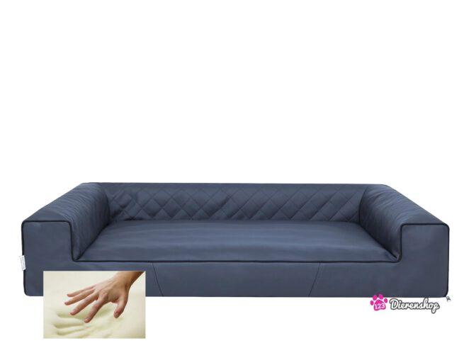 Orthopedische hondenmand Lounge Bed Indira Antraciet 100 cm-0