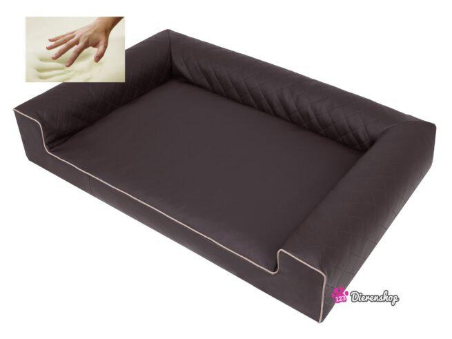 Orthopedische hondenmand Lounge Bed Indira Bruin 100 cm-19684
