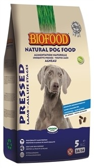 Biofood Geperst Lam & Rijst Premium 5 kg-0