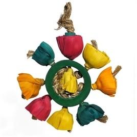 Papegaaienspeelgoed Blossem Ring-0