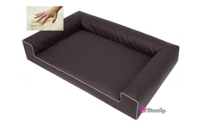 Orthopedische hondenmand Lounge Bed Indira Bruin 80cm-19903