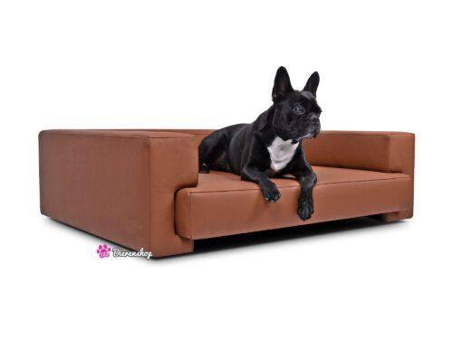 Hondenbank Deluxe Roestbruin-0