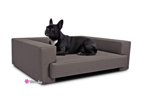Hondenbank Deluxe Taupe 105cm-0