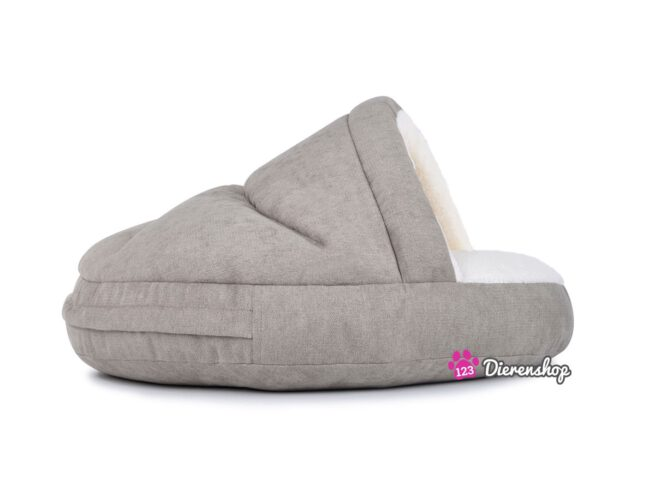 Hondenmand Snuggle Cave Deluxe Taupe 75 cm-0