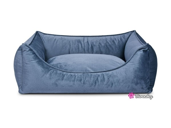 Hondenmand Glamour Turquoise 90cm-0