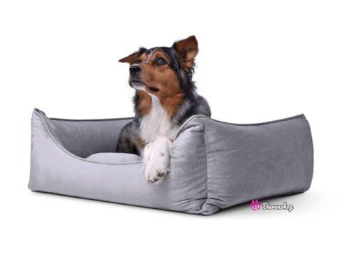Hondenmand Glamour Zilver 130 cm-0