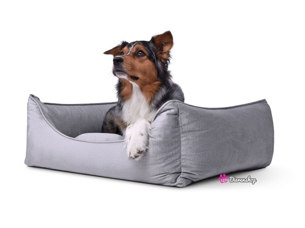 Hondenmand Glamour Zilver 90 cm-0