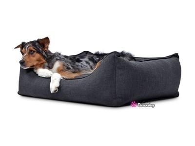 Hondenmand Luxery Antraciet 70cm-0