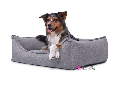 Hondenmand Luxery Grijs 90cm-0