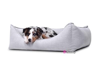 Hondenmand Luxery Zilver 90cm-0