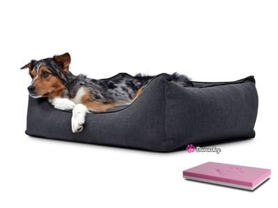 Orthopedische hondenmand Luxery Antraciet 110cm-0