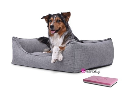 Orthopedische hondenmand Luxery Grijs 70cm-0