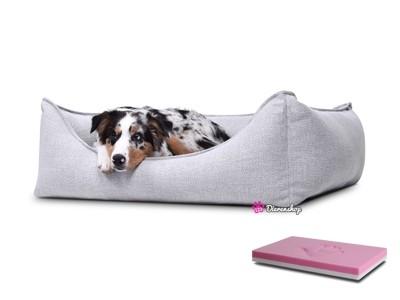 Orthopedische hondenmand Luxery Zilver 110cm-0