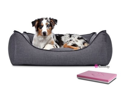 Orthopedische hondenmand Luxery Donkergrijs 90cm-0