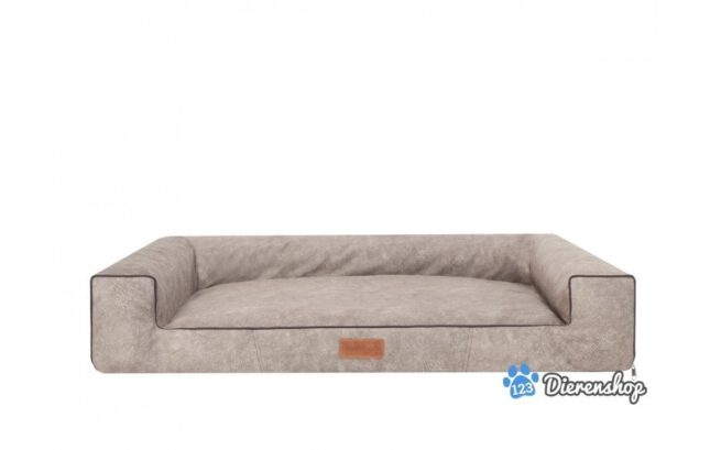 Hondenmand Lounge Bed Indira Misty Taupe 100cm-0