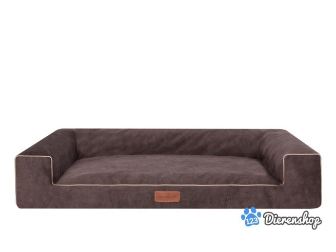 Hondenmand Lounge Bed Indira Misty Bruin 100cm-0