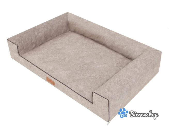 Hondenmand Lounge Bed Indira Misty Taupe-21289
