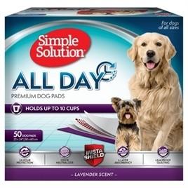 Simple Solution All Day Premium Dog Pads 50 stuks-0