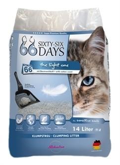 66Days Cotton Light Kattenbakvulling 14 Liter-0
