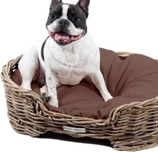 Hondenmand Rotan Ovaal High Sofa 80cm-21389